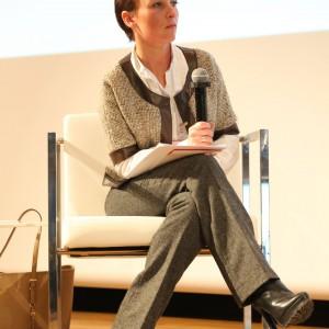 Panel poprowadziła Urszula Michalak - blogerka,  organizatorka Blogers Zone na Gdynia Design Days i Meetblogin.