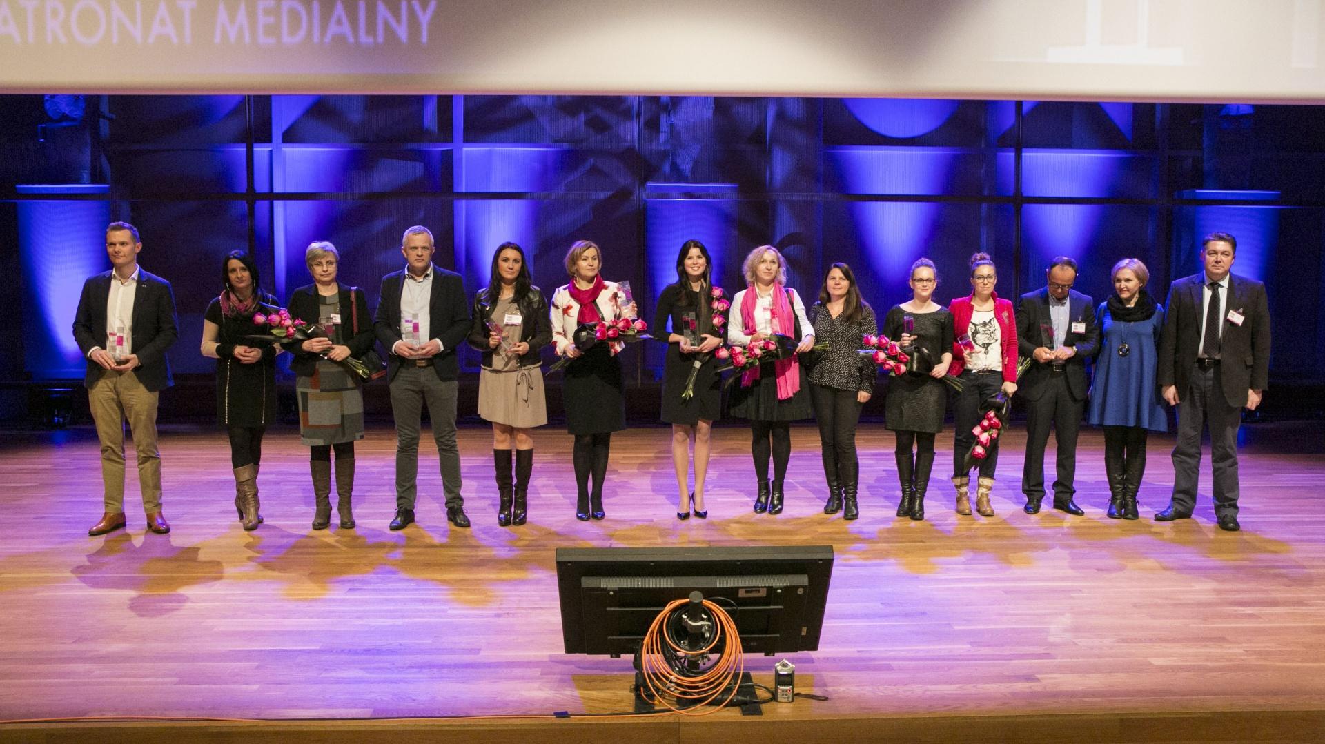 Zwycięscy konkursu Dobry Design 2015.