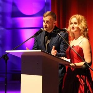 Uroczystą galę wręczenia nagród Dobry Design 2015 poprowadzili Anna Szawiel oraz Marek Ciunel.