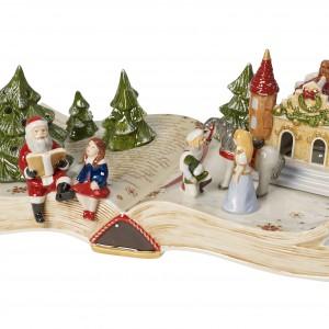 Porcelanowa księga-lampion z świątecznej kolekcji  Villeroy&Boch. Fot. Villeroy&Boch.