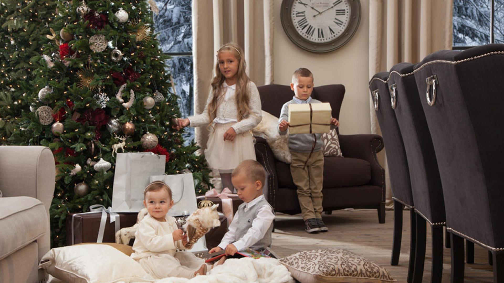 Kolekcja ozdób świątecznych British chic z oferty marki Almi Decor. Fot. Almi Decor.