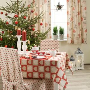 Świąteczne tkaniny dekoracyjne z oferty marki Dekoria. Fot. Dekoria.