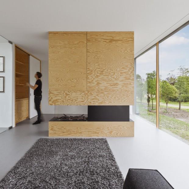 Piękne, jasne wnętrze. Zobacz nowoczesny dom w Holandii