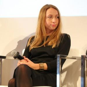 """""""Jesteśmy obecnie w momencie przejścia - potrzebna jest nam nowe rzemiosło"""" - tak o technologii w służbie designu mówiła Maja Ganszyniec."""