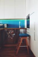 ofdesign Oskar Firek, projekt wnętrz, PLYWOOD WARSAW, kuchnia.