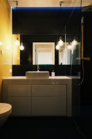 ofdesign Oskar Firek, projekt wnętrz, PLYWOOD WARSAW, łazienka.