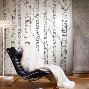 Fototapeta z kolekcji Tree z motywem ręcznie malowanych brzózek z oferty marki Mr. Perswalll.