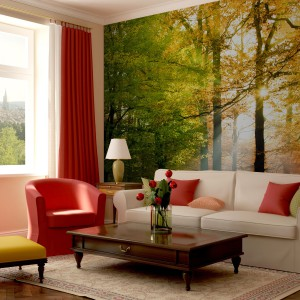 Fototapeta z jesiennym pejzażem z oferty marki Minka.pl.
