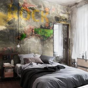 Dynamiczna tapeta w miejskim stylu ożywi każde wnętrze. Fot. Redro.