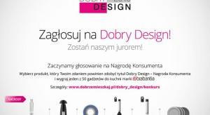 """""""Dobry Design – Nagroda Konsumentów"""" została już przyznana. Zostali też wyłonieni zwycięzcy w głosowaniu konsumentów na Dobry Design 2015. Uczestnicy głosowania musieli prawidłowo wytypować produkty, które zostaną nagrodzone przez profe"""