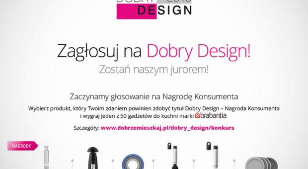 Sprawdź czy zdobyłeś nagrodę za głosowanie na Dobry Design 2015
