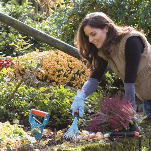 Pielęgnacja roślin w naszym ogrodzie wymaga odpowiednich narzędzi. Zimą warto przygotować wszystkie narzędzia do pracowitego, wiosennego sezonu. Fot. Gardena.