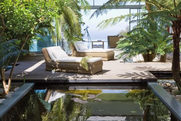 Woda w ogrodzie - ciekawe pomysły na aranżację