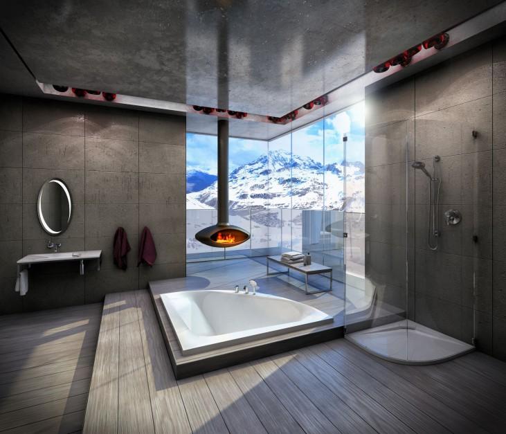 Nic tak nie ogrzewa zimą...  Łazienka inspirowana zimą – wnętrza z klimatem  Strona: 4