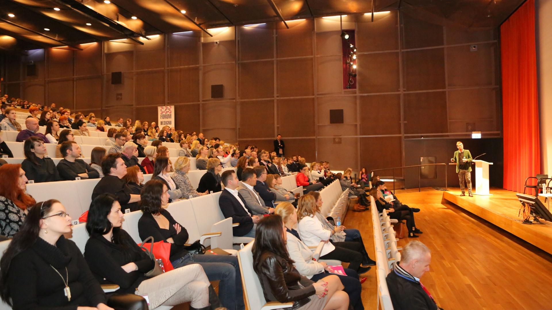 Frekwencja na Forum dopisała. W sumie w wydarzeniu wzięło udział ponad 700 osób. Fot. Bartosz Jarosz.