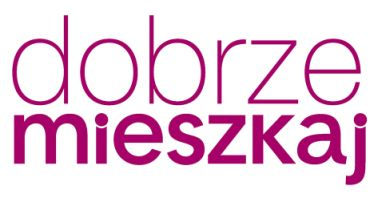 Nowe logo portalu Dobrzemieszkaj.pl i magazynu Dobrze Mieszkaj.