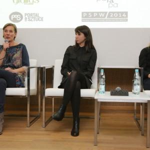 - My w Polsce jesteśmy obarczeni poszukiwaniem tożsamości, dlatego chcielibyśmy nadać twórczości ludowej wartość narodową – mówiła Lubomira Trojan podczas dyskusji na temat tożsamości designu.