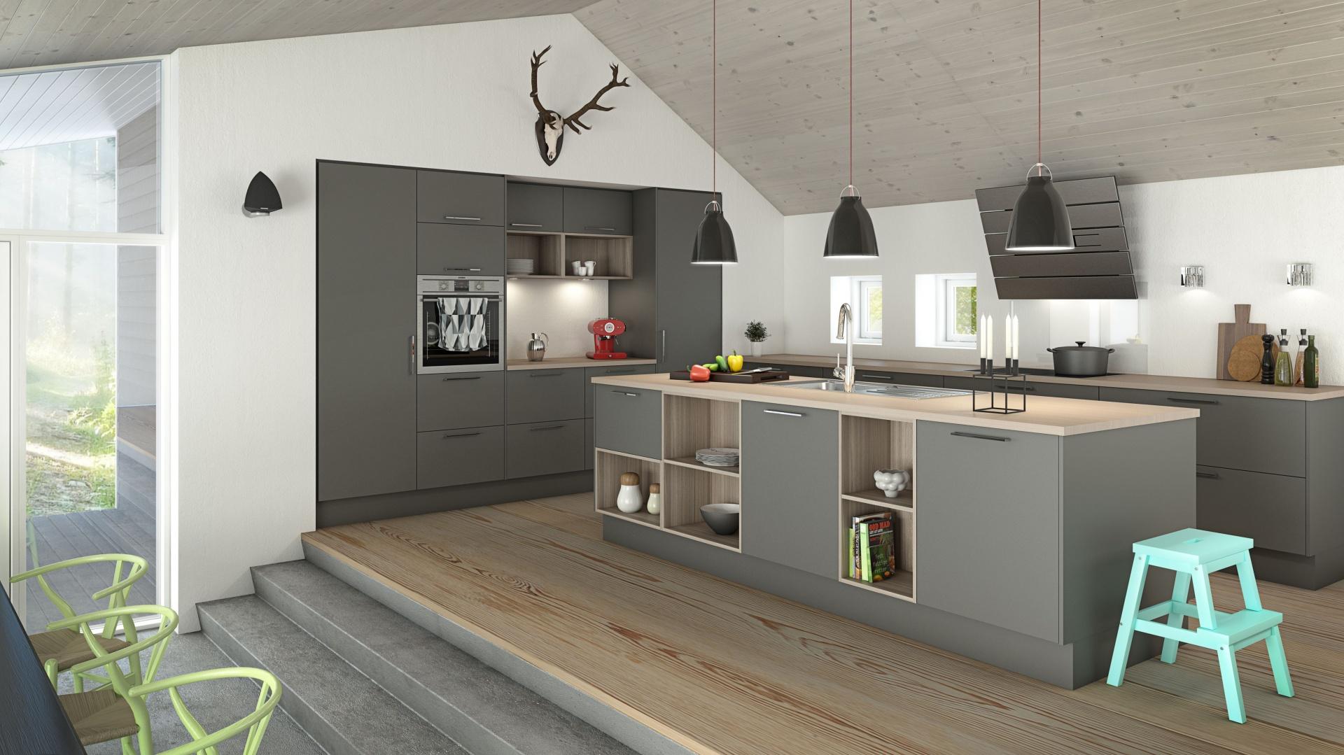 Kuchnia W Stylu Loft Tak Urządzisz Nowoczesne Wnętrze