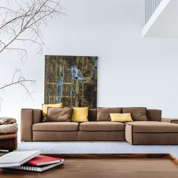 Sofa w salonie: 15 modnych propozycji