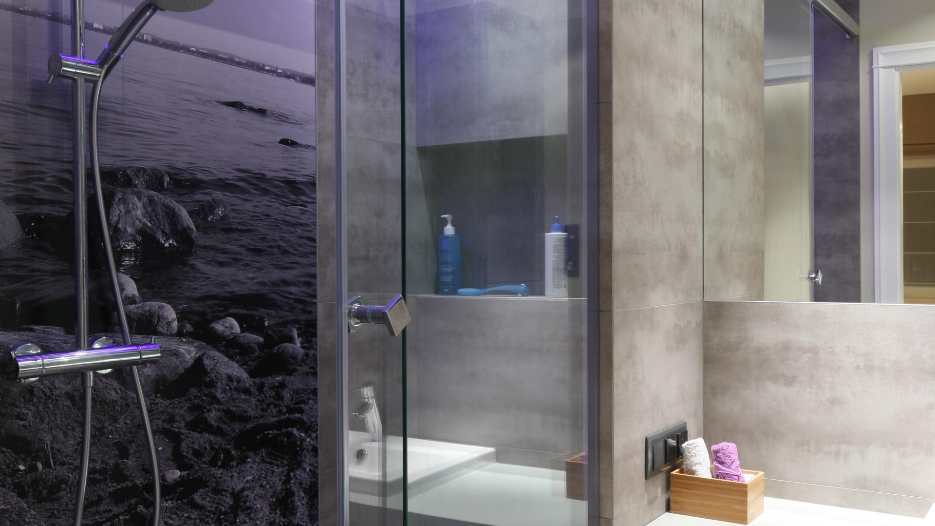 ściana Za Prysznicem Zobacz Pomysły Architektów