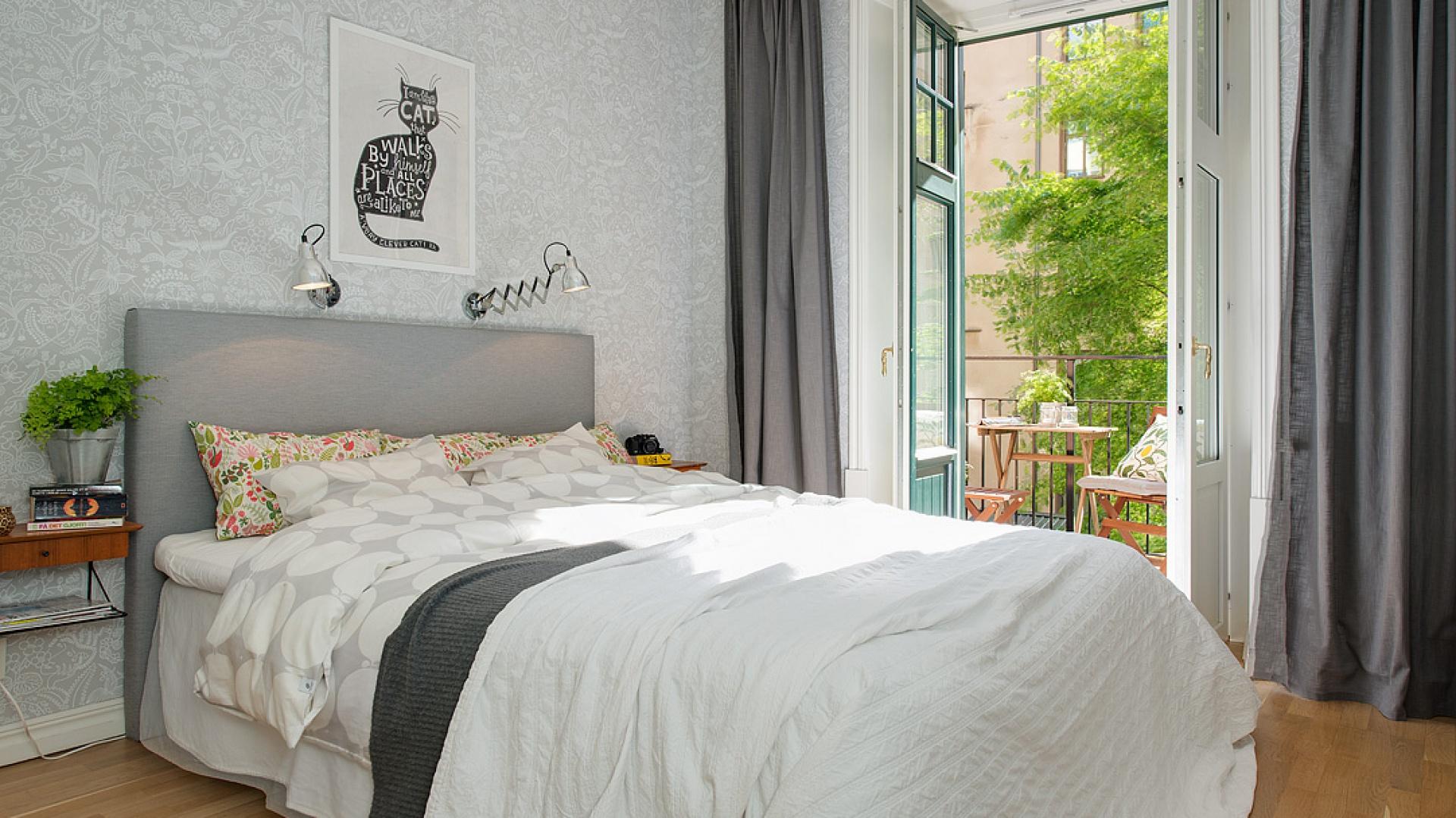 Sypialnia W Stylu Skandynawskim Tak Ją Oświetlisz