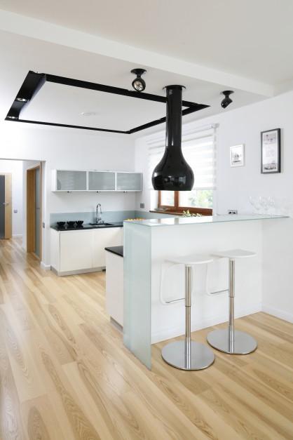 Czarne, nowoczesne...  Jak oświetlić elegancką kuchnię? Pomysły projektantów  Strona: 10