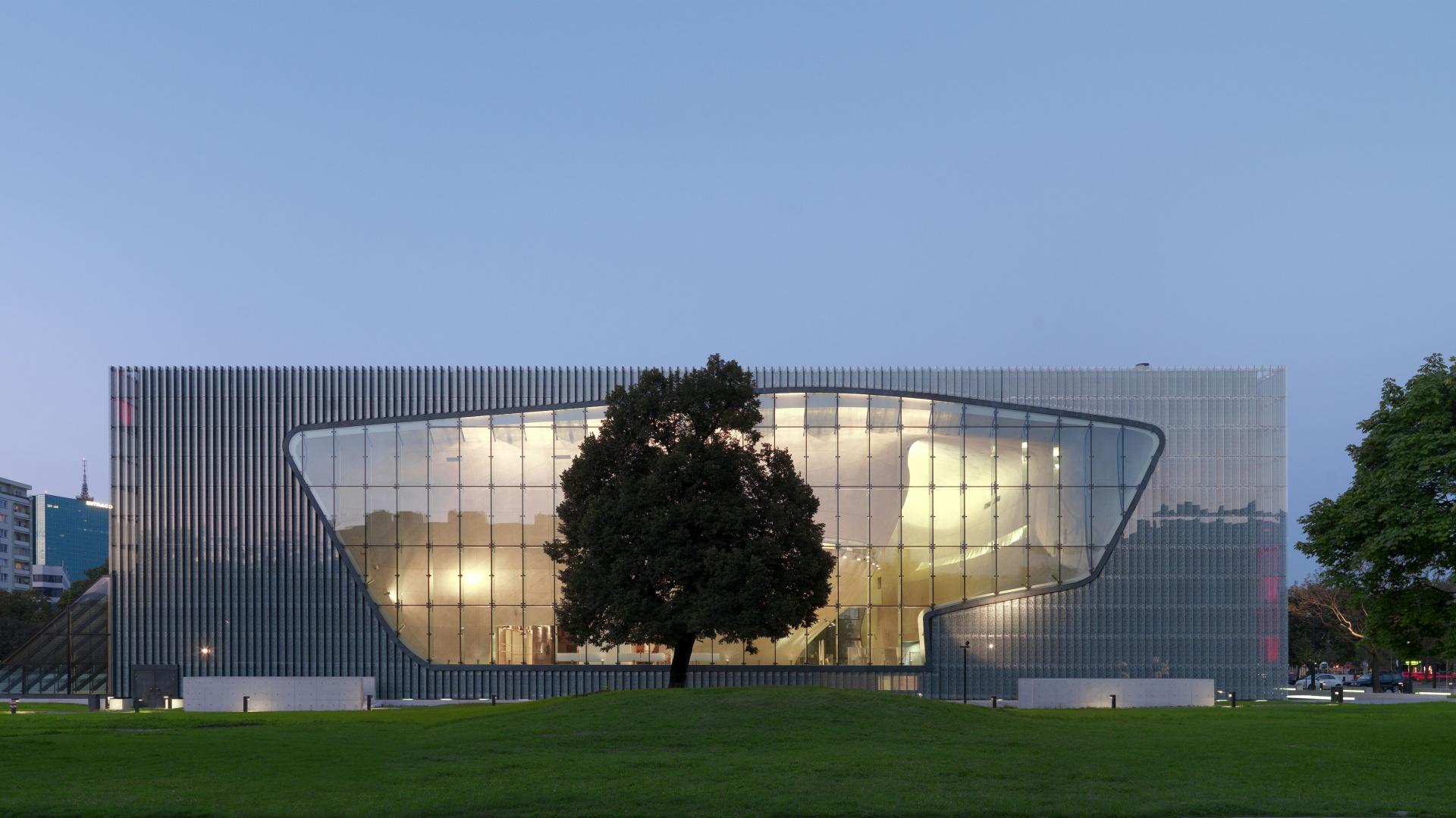 Muzeum Historii Żydów Polskich POLIN. Fot.W.Kryński
