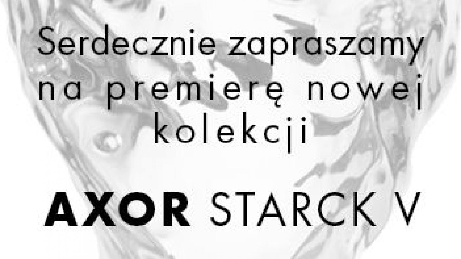 Zaproszenie na premierę nowej kolekcji. Fot. Archiwum