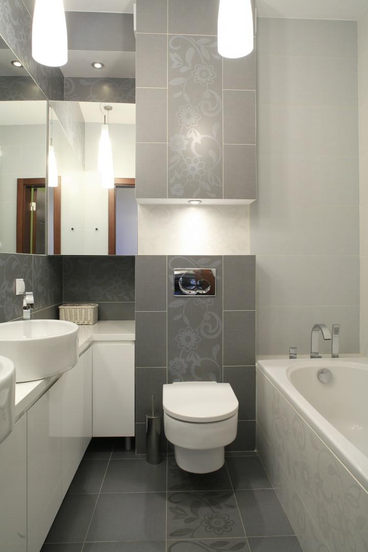 Łazienka w bloku – zobacz gotowe projekty wnętrz - Galeria - Dobrzemieszkaj.pl