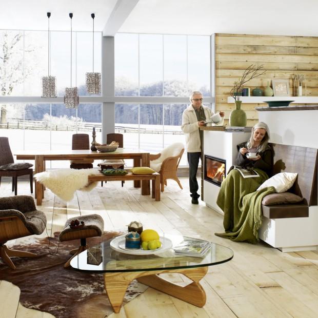 Salon w wiejskim stylu. Nowoczesne pomysły na przytulne wnętrze