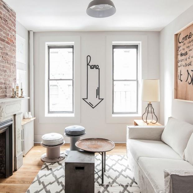 Jasne, piękne mieszkanie w Nowym Jorku