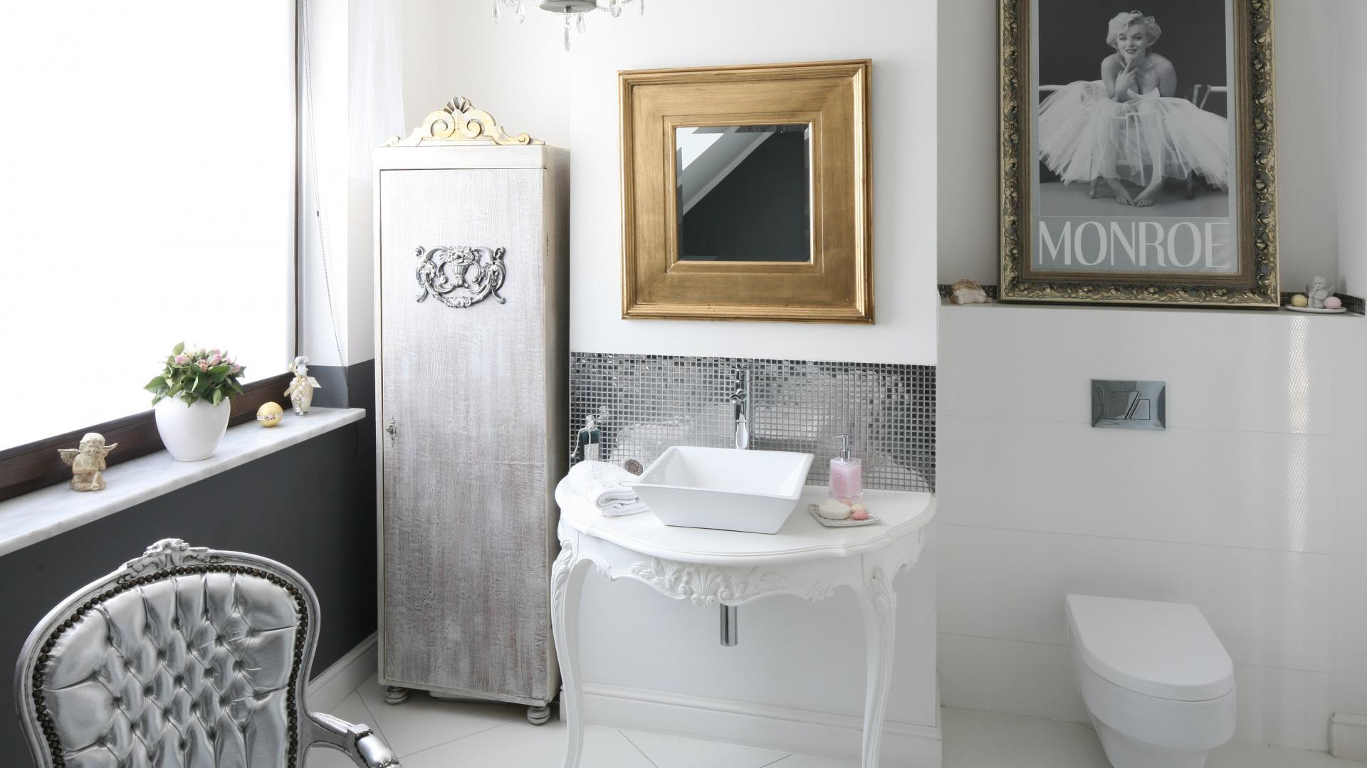 łazienka W Stylu Glamour Zobacz Jak Urządzają Inni