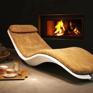 Fotel Shell marki Niummi urzeka anatomicznym kształtem inspirowanym formą muszli, dostosowanym do kształtu ciała. Fot. Niummi.