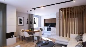Projekt wnętrza mieszkania w Petersburgu zachwyca stonowanymi barwami i ciekawymi rozwiązaniami przestrzennymi.