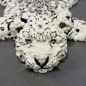 Podczas tworzenia dywanu sugerowano się autentycznym wyglądem dzikiego zwierzęcia. Fot. MYK.