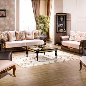 Zdobienia, złocenia i dekoracyjne ornamenty to nieodłączne atrybuty stylu klasycznego. Szczególnie jego luksusowej wersji. Fot. Istikbal.