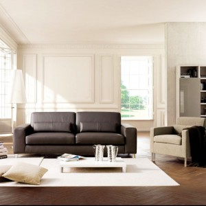Klasyczny salon w nieco bardziej nowoczesnym wydaniu. Fot. Colombini Casa.