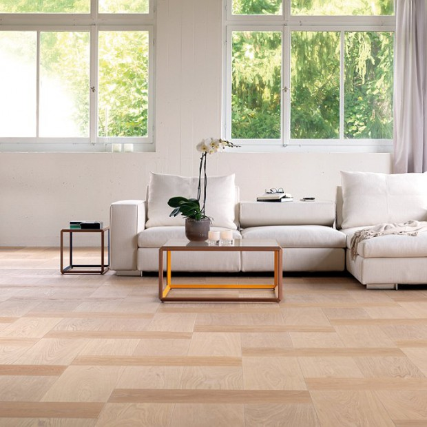 Drewniana podłoga jako inspiracja dla wnętrz