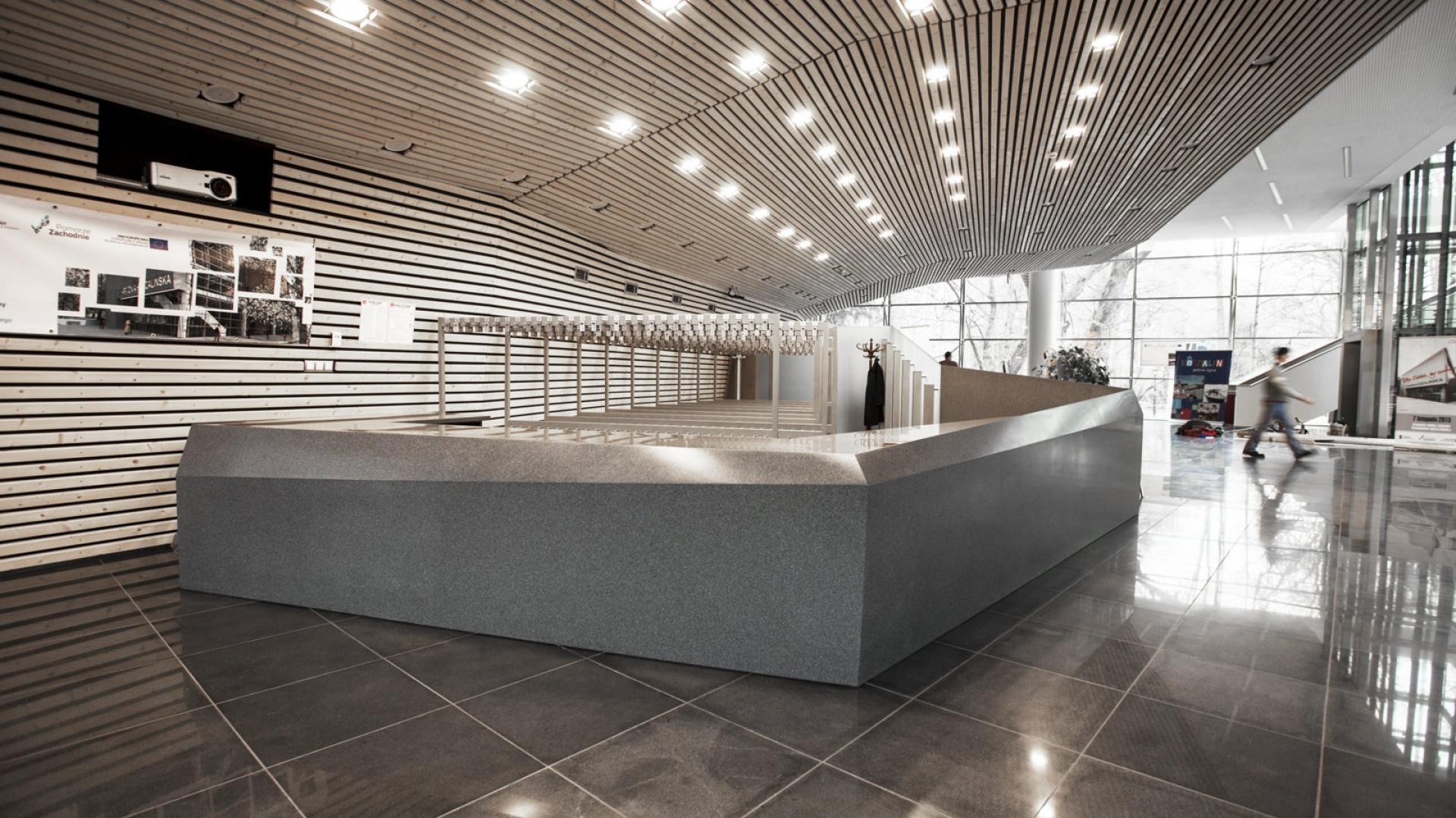Nowa sala w Filharmonii Koszalińskiej może pomieścić 518 osób. Fot. DuPont