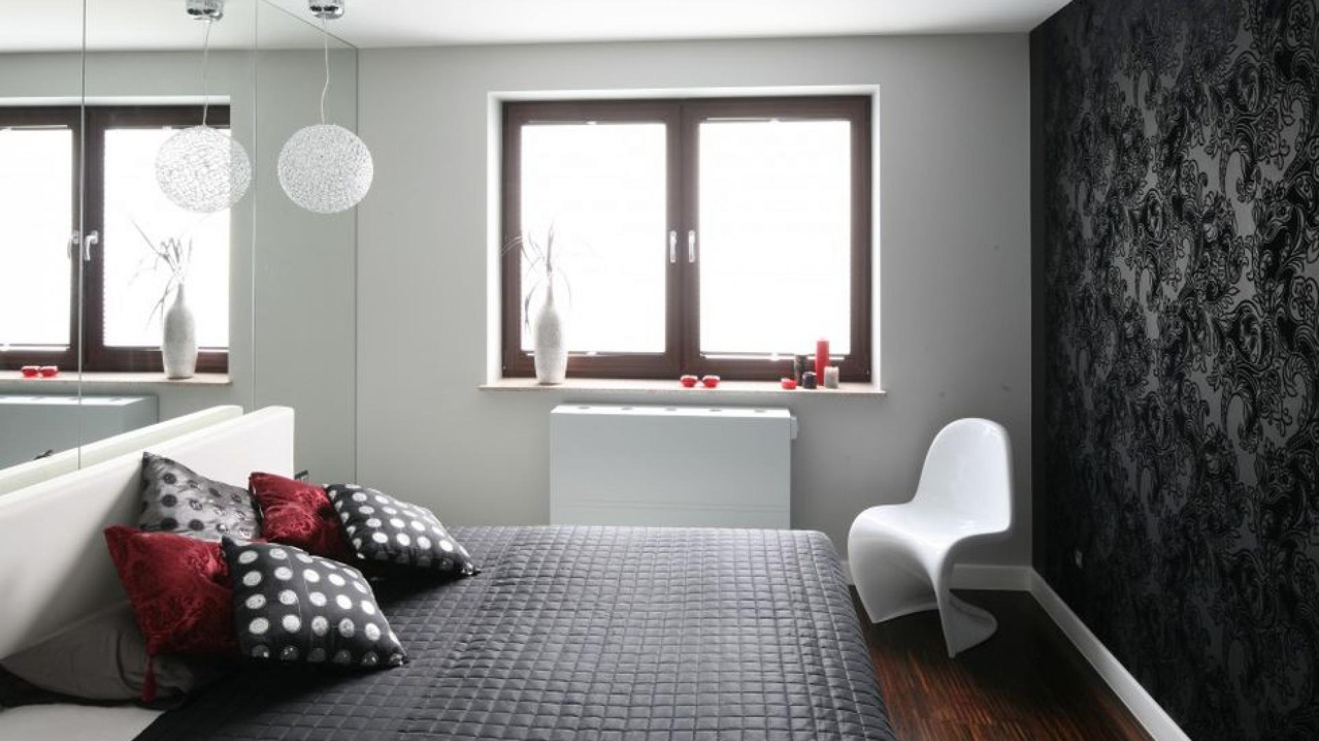 Szare ściany Pomysł Na Aranżację Sypialni