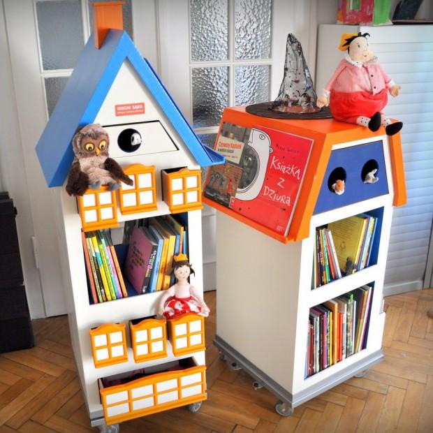 """Designerska """"biblioterapia"""" - wędrująca szpitalna biblioteka"""