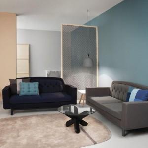 W loftowych wnętrzach ważną rolę odgrywa industrialne oświetlenie. W ofercie firmy Normann Copenhagen można znaleźć designerskie lampy sufitowe Bell, zainspirowane kształtem dzwonów. Dostępne w Squarespace. Fot. Normann Copenhagen.
