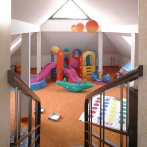 Przenosząc przytulanki, lalki czy klocki do domowego placu zabaw zyskamy więcej wolnego miejsca w pokoju dziecka. Fot. Bartosz Jarosz.