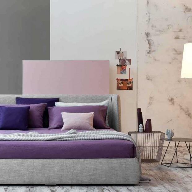 Meble do sypialni: tapicerowane łóżka
