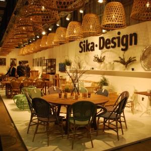Marka Sika Design od 1950 roku produkuje ręcznie wykonywane meble z rattanu. Na targach Stockholm Furniture Fair zaprezentowała najlepsze swoje kolekcje. Fot. Marta Ustymowicz