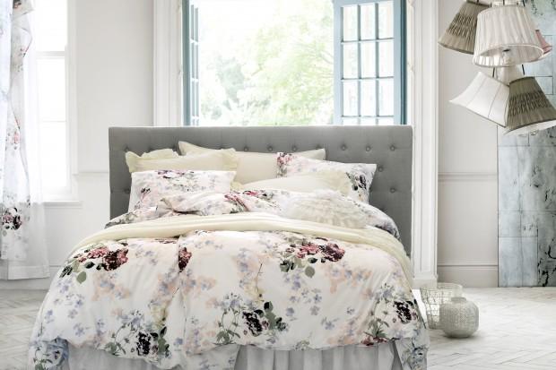 Dekoracja sypialni - najnowsze wiosenne kolekcje