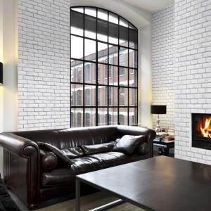 Kolekcja kamieni Loft Brick, poprzez swoją surową, minimalistyczną fakturę oraz ponadczasowy kształt nawiązuje do najznakomitszych tradycji architektury europejskiej. Fot. Master Stone.