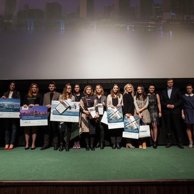Rozdano nagrody drugiej edycji Siemens Future Living Award. Fotorelacja.