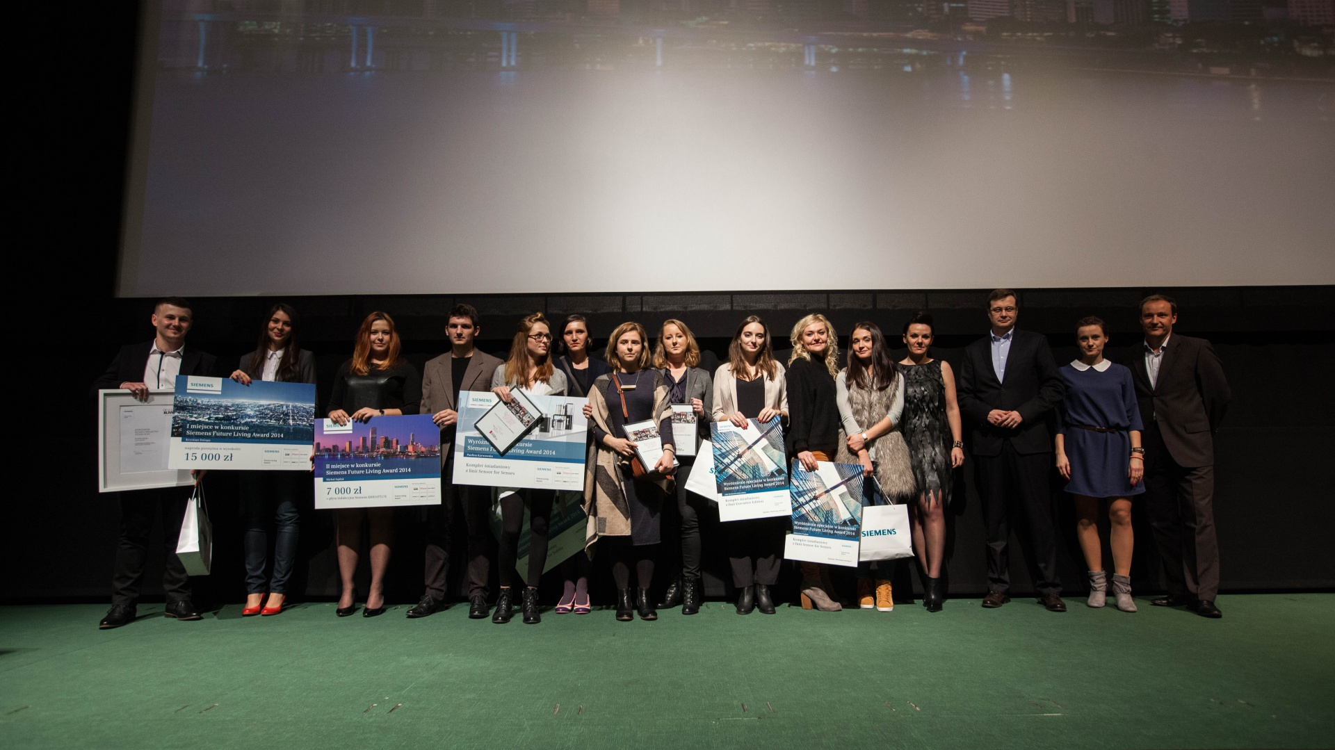 Gala wręczenia nagród Siemens Future Living Award. Fot. Siemens Home