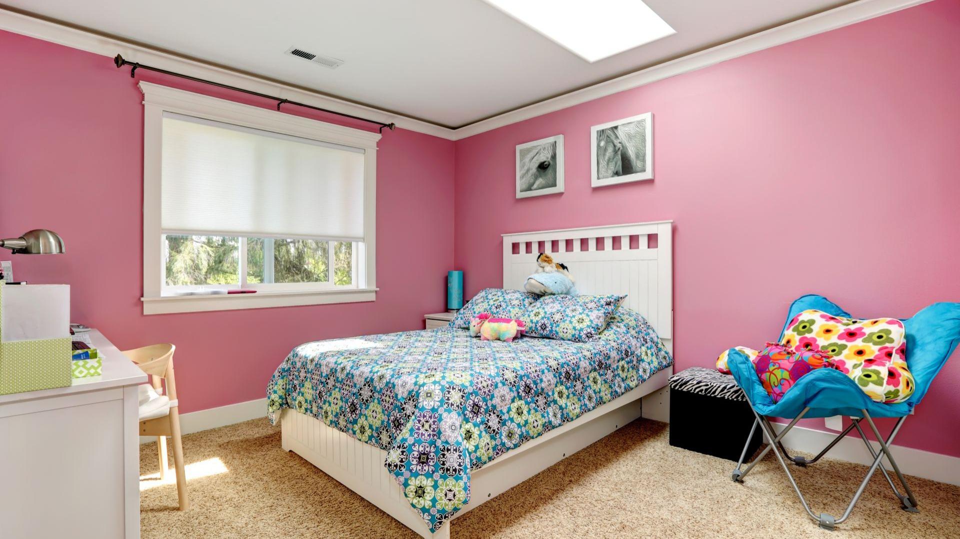ściany W Pokoju Dziecka Przegląd Farb